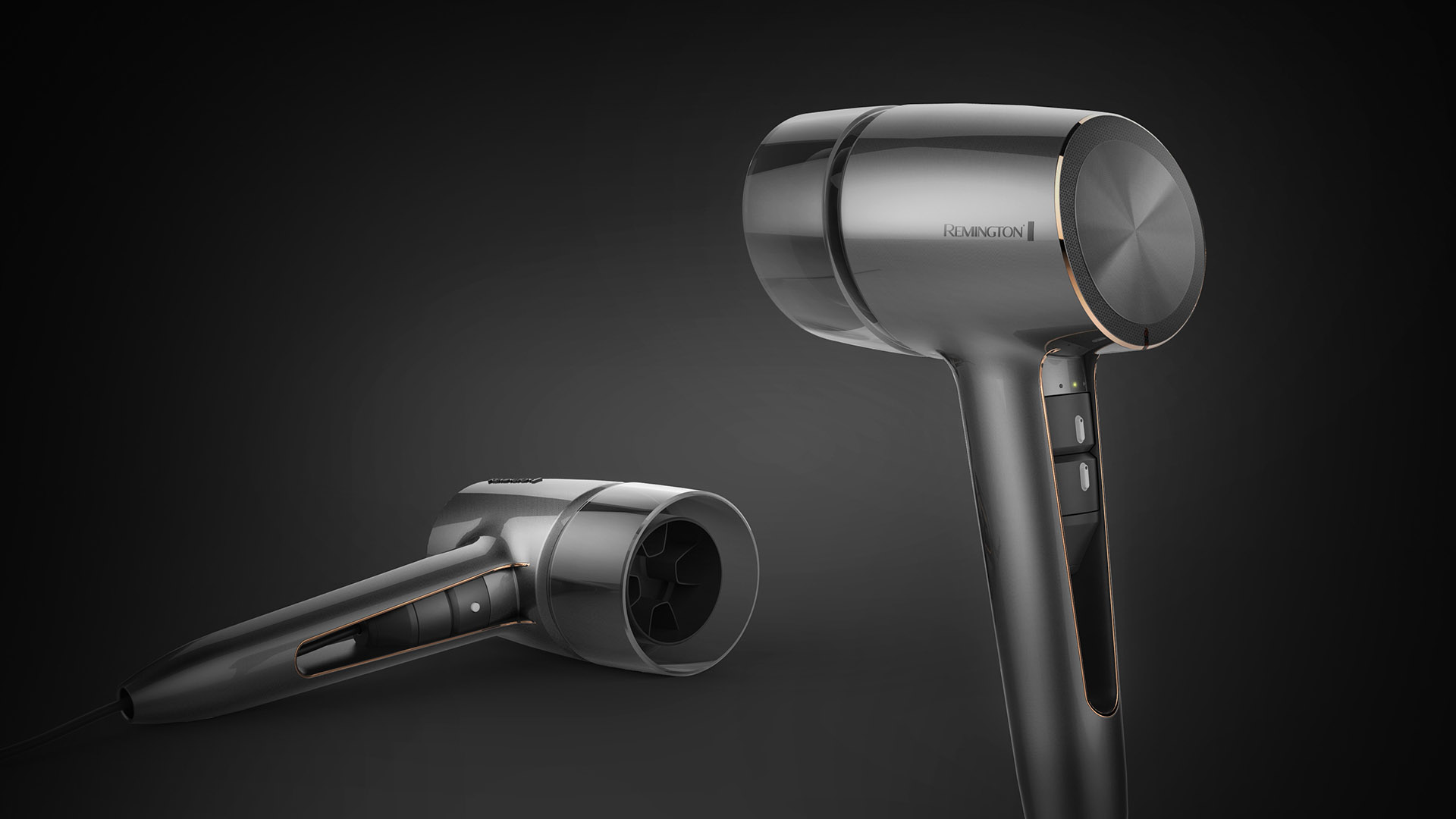 Remington Hair Dryer Design Concept Orlach Design