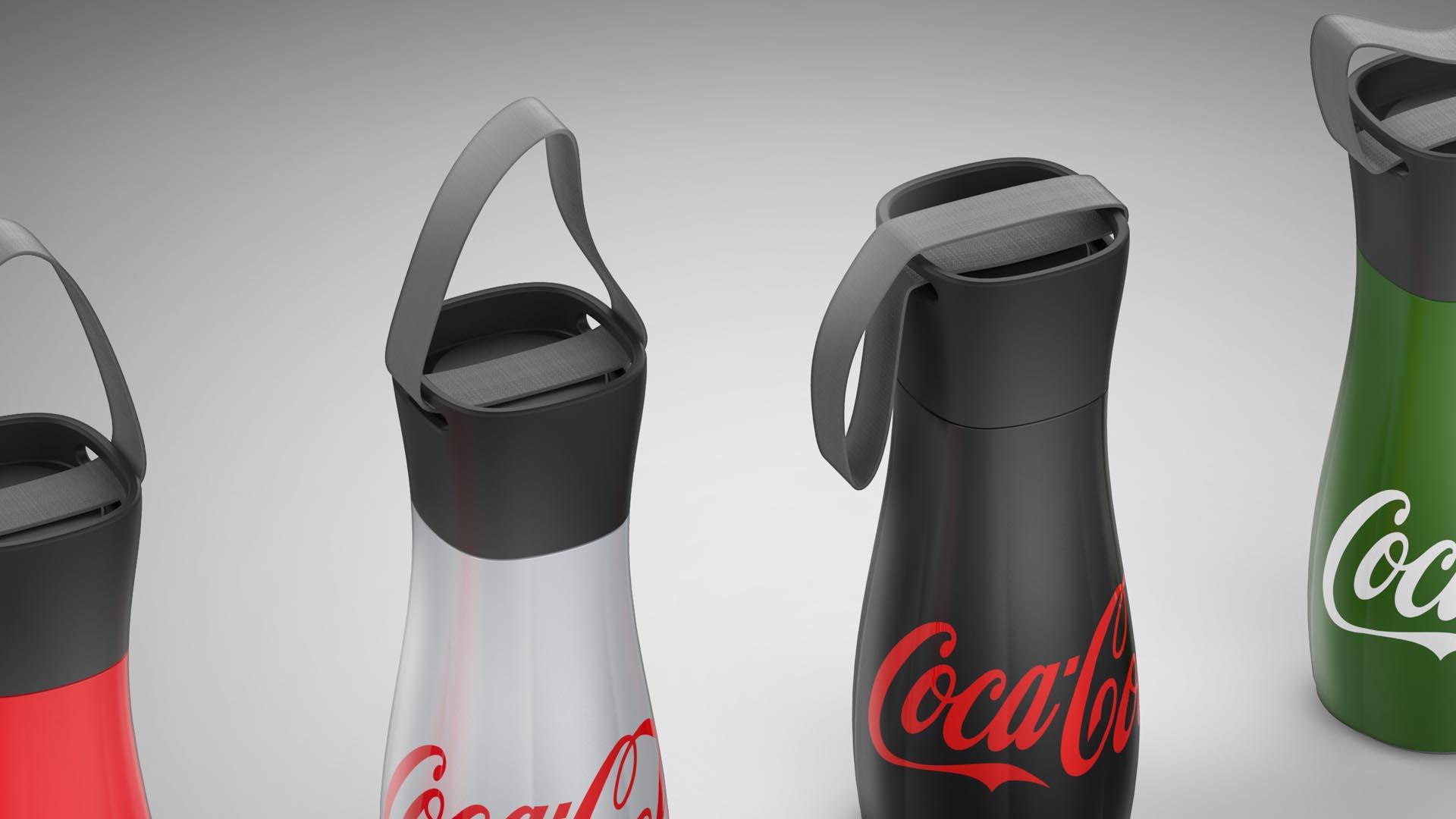 coca cola bottle design concept orlach design. Black Bedroom Furniture Sets. Home Design Ideas