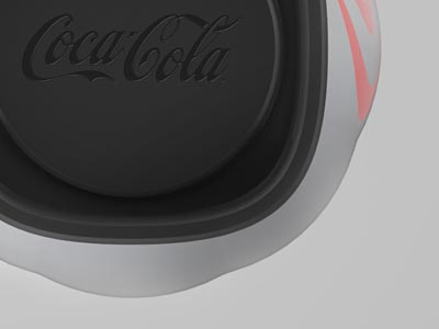Coca Cola bottle design concept